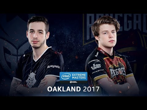 CS:GO - G2 vs. Renegades [Cobblestone] - Group B Round 2 - IEM Oakland 2017