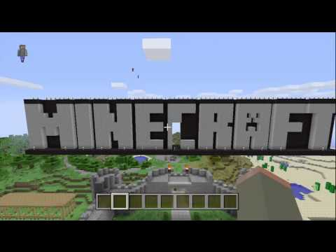 TU12 Tutorial World Nether Portal Location - Minecraft (Xbox 360)