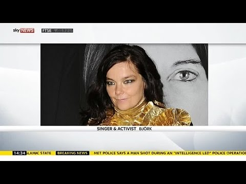 """Bjork: """"In Iceland We Can See The Melting Of The Glaciers"""""""