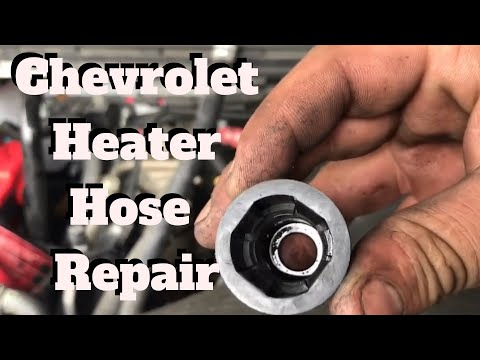 How to remove a heater hose quick connect on a GM