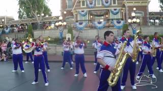 Star Wars Medley First Day Disneyland Resort 2016 All American College Band