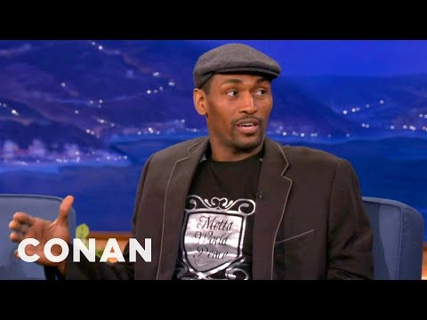 Metta World Peace On Conan - Hasn't Spoken To James Harden - CONAN on TBS