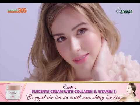 Careline Placenta Cream with Collagen & Vitamin E - Bí quyết cho làn da mướt, mịn màng, chống lão hóa