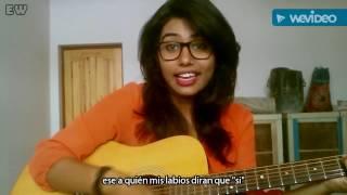 Mere Khwabon Mein Jo Aaye - Cover  - Monika - DDLJ - Sub español