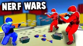 NERF WAR!  Epic Battles Using NERF Blaster Arsenal (Ravenfield Nerf Mod Gameplay)