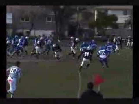 Julius Jones-Carter Sr. Turner Fenton Football Tape (2007) Video