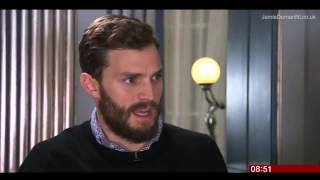 Jamie Dornan - Fifty Shades interview on BBC Breakfast (13.02.15)
