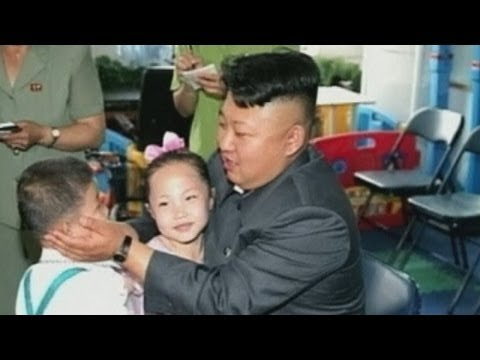 North Korean leader Kim Jong-un visits orphanage