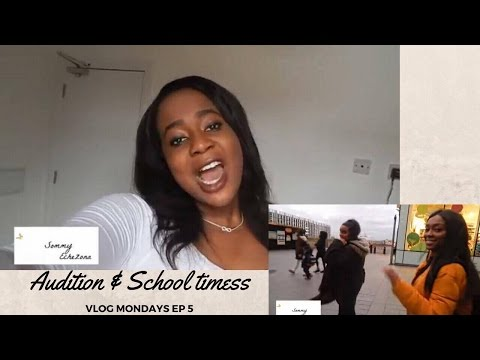 VLOG MON EP 5 | 'Got my first paid acting job, happy dance!' Audition and school timess
