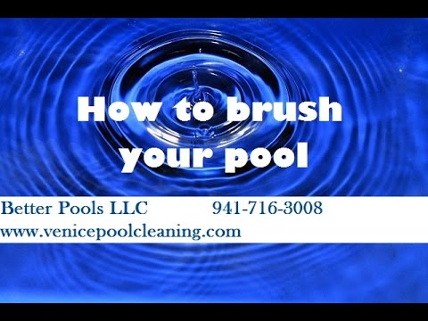 How to Brush your Pool