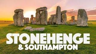 O que fazer em Stonehenge e Southampton - vlog de viagem  na Inglaterra
