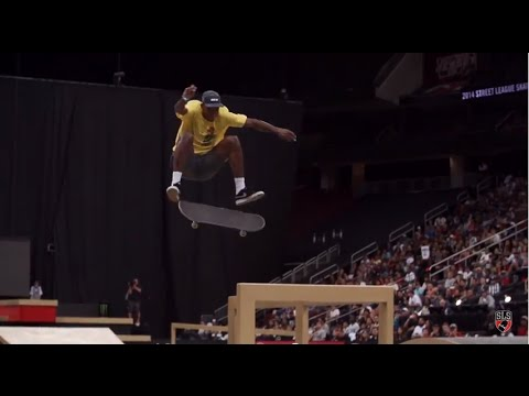 Street League 2014: The Come Up Presented by Nike SB - Ishod Wair