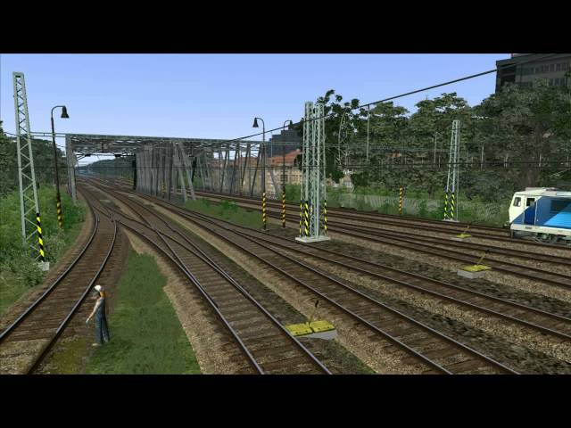 Railworks 3: Train Simulator 2012 - Czech Republic - Prag - Vrsovice - Depo - ČD Traffic - HD
