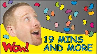 Ice Cream for Kids + MORE | Children´s Songs Collection| 19 Minutes esl Compilation Steve and Maggie
