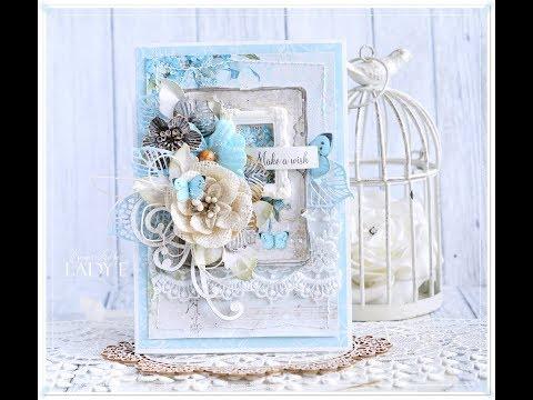 Romantic Layered Card Step by step * Emilia sieradzan *