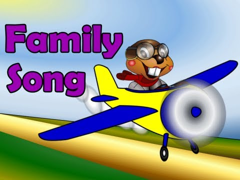 The Family Song - Kids English Pop Music