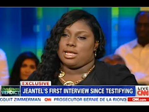 Rachel Jeantel Interview On Piers Morgan CNN - Part 1 - July 15, 2013