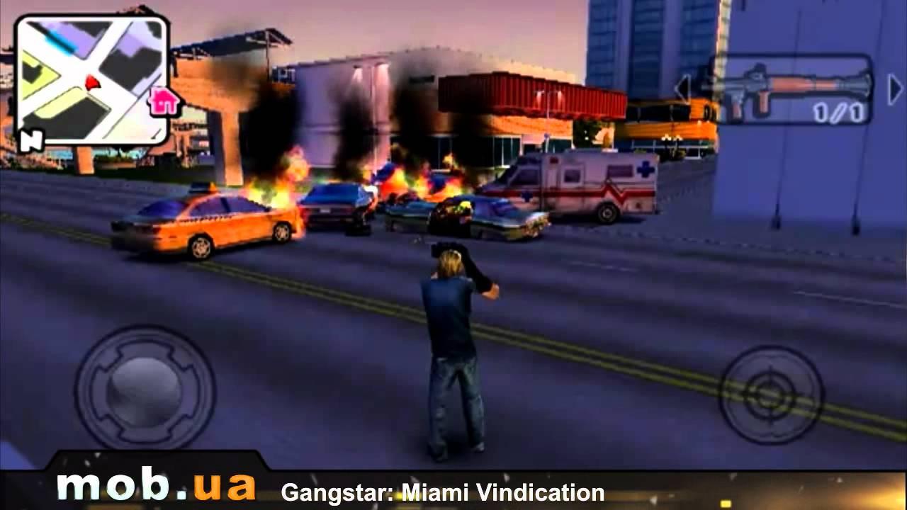 Gangstar: miami vindication hd - вторая часть серии gangstar с улучшенной графикой