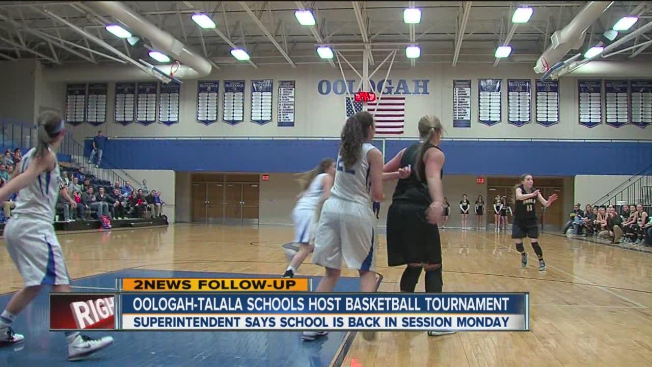 Oologah Talala School Host Basketball Tournament Youtube