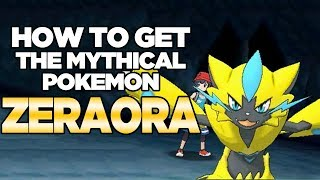 How To Get Mythical Pokemon Zeraora for Pokemon Ultra Sun and Moon | Austin John Plays