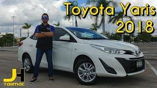 Toyota Yaris 2018  Prueba Fondo! Hace más llevadero el tráfico de la ciudad.