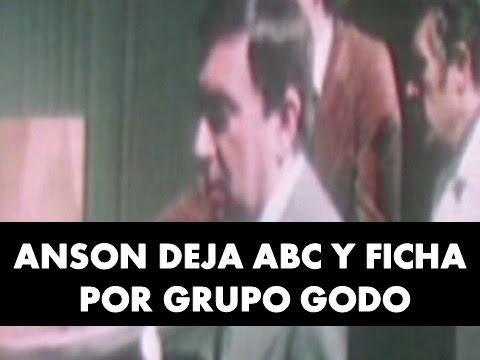 Anson rompe con grupo 'ABC' y ficha por Godó - 1976