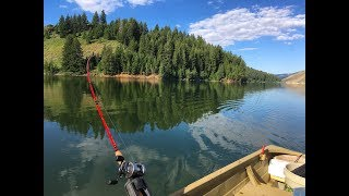 Kokanee Fishing Anderson Ranch Reservoir Idaho