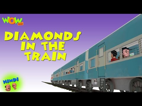 Diamonds In The Train - Motu Patlu in Hindi WITH ENGLISH, SPANISH & FRENCH SUBTITLES thumbnail