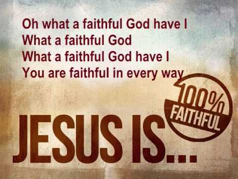 Stuart Townsend - What A Faithful God Have I
