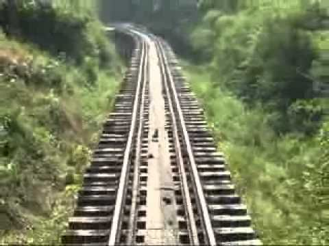 Death Railway - River Kwai Bridge ,Kanchanaburi,Thailand