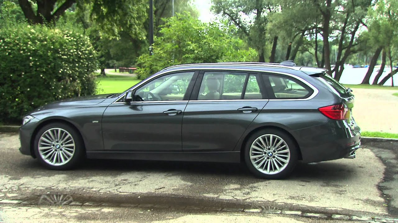 2013 Bmw 3 Series Touring Trunk Youtube