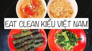 Chiên xào, EAT CLEAN kiểu Việt Nam ♡ Hana Giang Anh