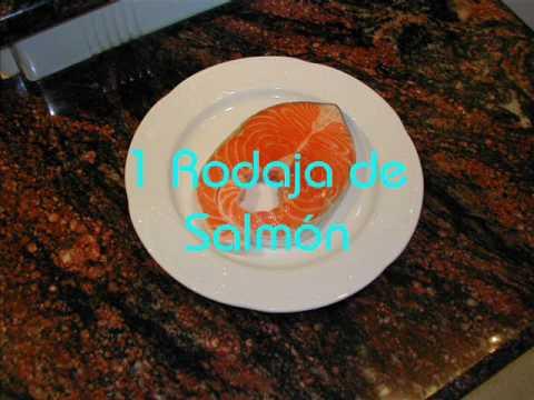 Recetas para Microondas - Salmón en Papillote en horno Microondas