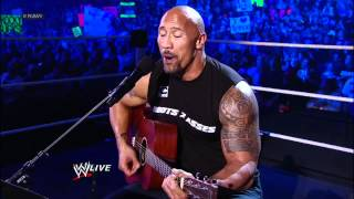 WWE The Rock Concert III 2012