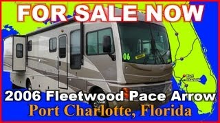 2006 Fleetwood Pace Arrow 36D Used Class A Gas Motorhome, Florida, Pt Charlotte, Ft Myers, Sarasota