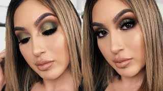 THE DREAM PALETTE TUTORIAL | FALL OLIVE SMOKEY EYE MAKEUP