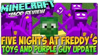 MINECRAFT MOD FIVE NIGHTS AT FREDDY