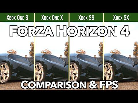 Forza Horizon 4 - Xbox One S|X & Series S|X - Comparison&FPS