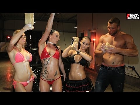 Bikini Carwash + Sexy Hot Erotic American Style. Platinum Autowaschstrasse Gm 23.07.2011 video