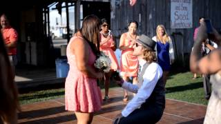 Surprise wedding proposal!