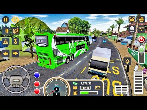 Android Game: Mobile Bus Simulator gameplay #7 Bus Games