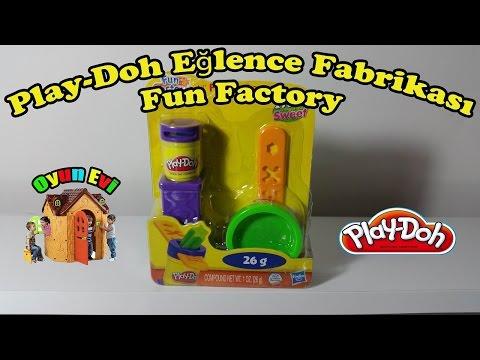 Play-Doh Eğlence Fabrikası ile farklı oyun hamuru şekilleri nasıl yapılır I Play-Doh Fun Factory