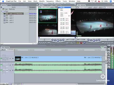 Final Cut Pro tutorial: Larry Jordan's Setting Up & Editing Multiclips