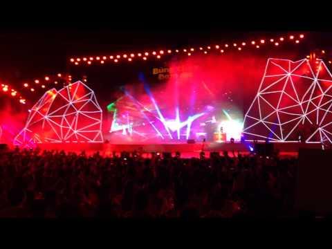 DJ Trang Moon - vũ trường ngoài trời Bùng cháy đam mê bia Sài Gòn 2015