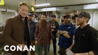 Conan Visits The Samuel Adams Brewery