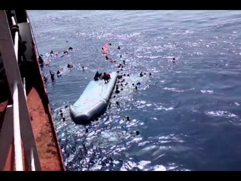 M.V. Stjerneborg Search & Rescue Malta to Libya Migrant part 2