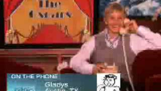 Ellen Calls Gladys About the 2009 Oscars