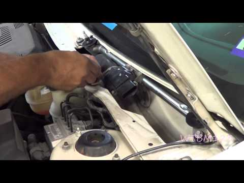 How to install a wiper washer pump in a chevy venture or for How do you replace a windshield wiper motor