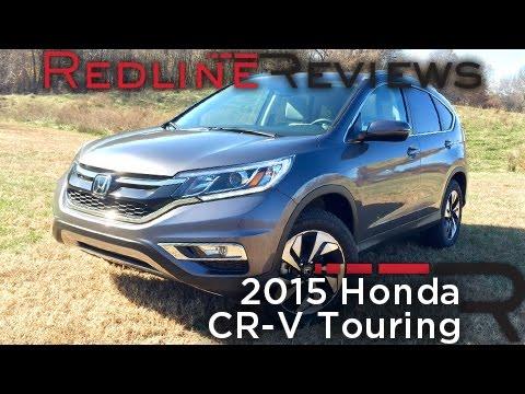 Redline Review: 2015 Honda CR-V Touring