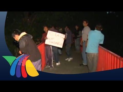 Vecinos de Xochimilco denuncian inseguridad | Noticias